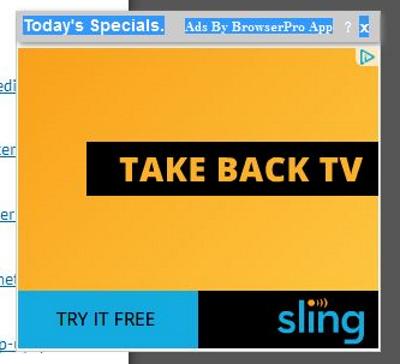 BrowserPro App Ads