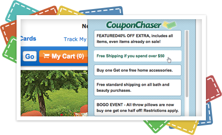Coupon Chaser Ads