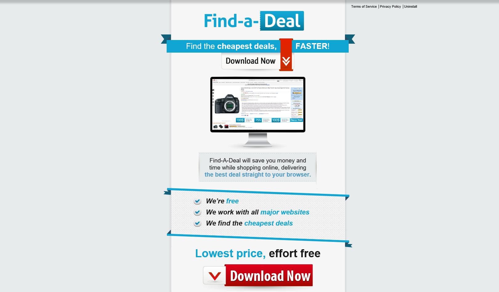 Find-A-Deal Ads