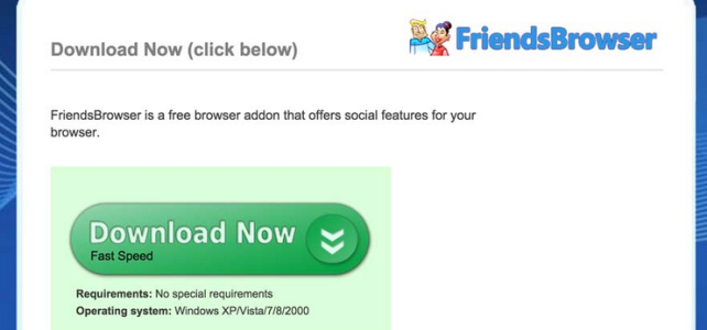 How to uninstall (remove) FriendsBrowser