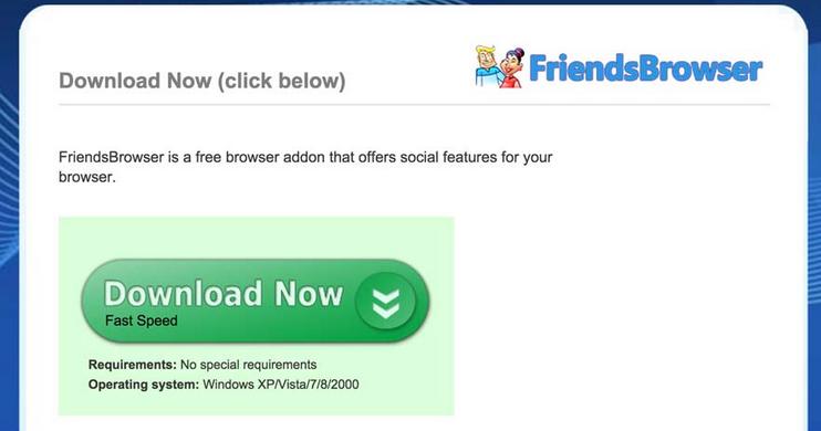 FriendsBrowser Ads