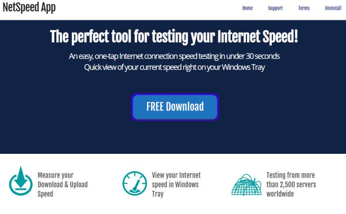 NetSpeed App Ads