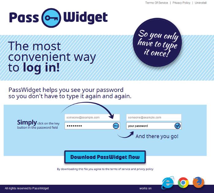 PassWidget Ads