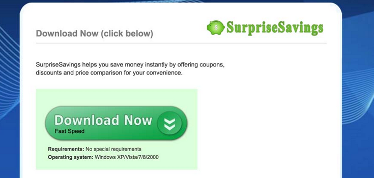 SurpriseSavings Ads