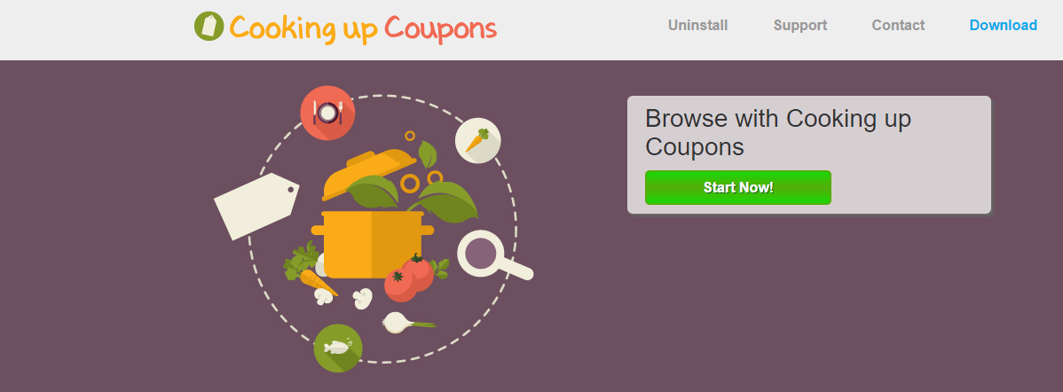 Cooking Up Coupons Ads