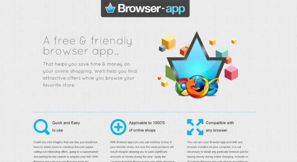 Browser-App ads
