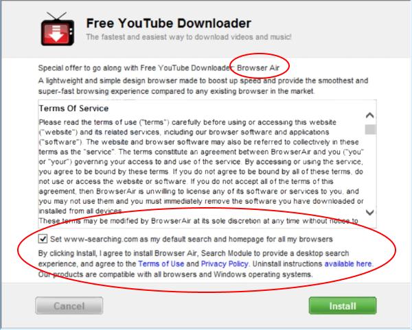browserair installatør