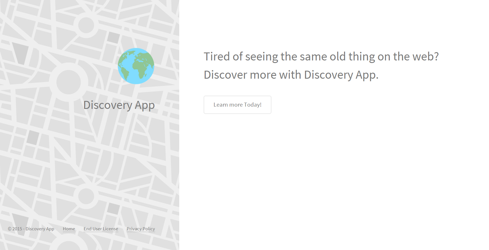 Discovery App ads