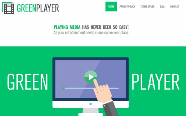 GreenPlayer ads