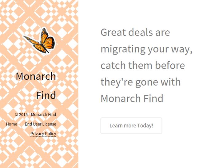 monarch find ads