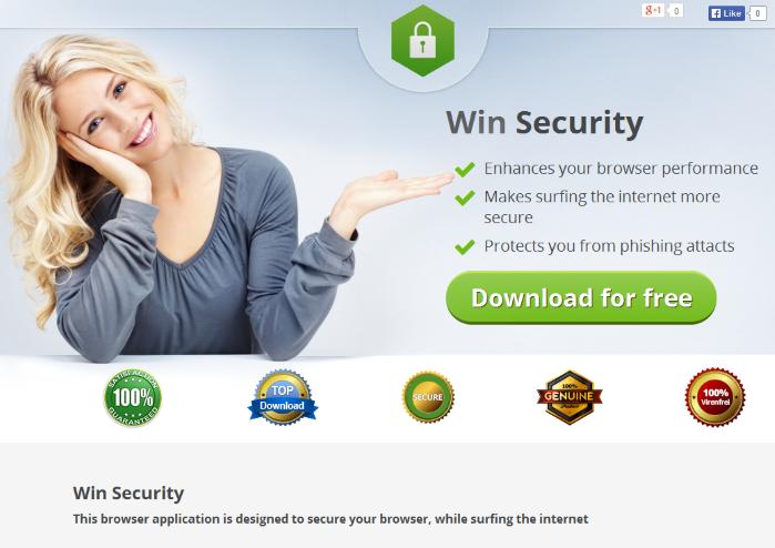 Win Security ads