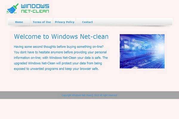 windows net-clean ads