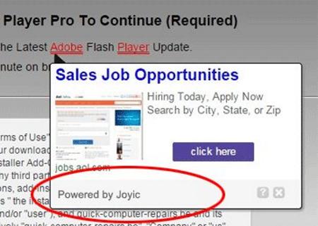 ads by joyic