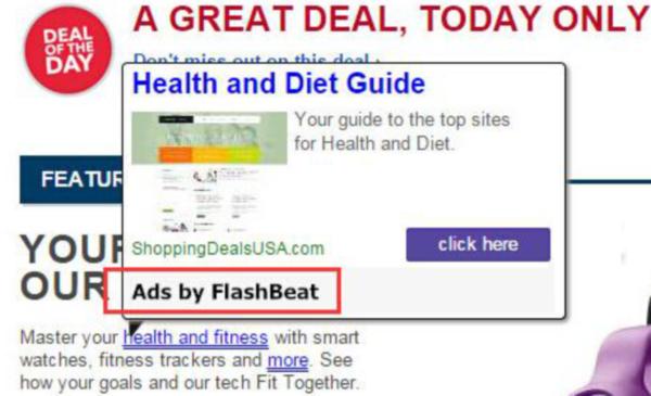 Flashbeat ads