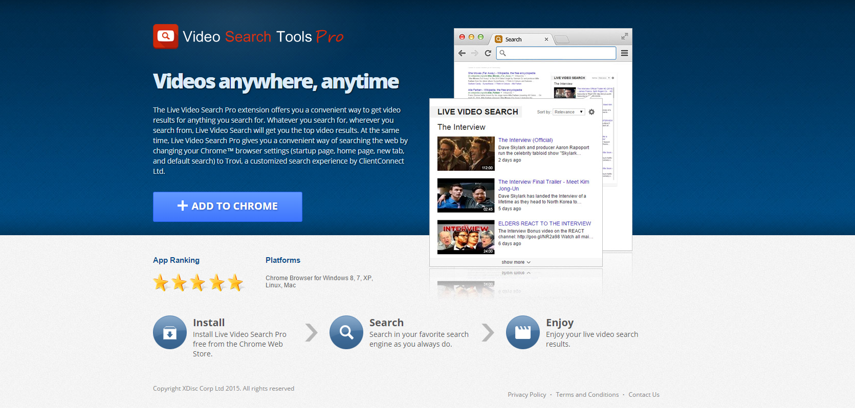 Video Search Tools Pro ads