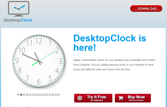 ads by DesktopClock