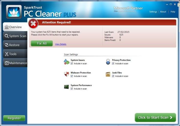 PC Cleaner Plus