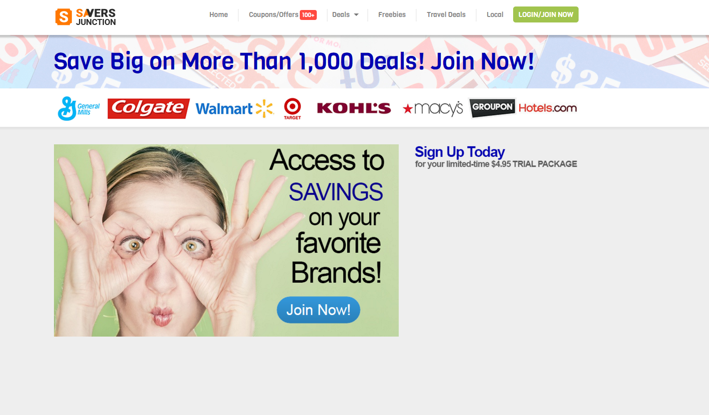 Savers Junction Ads