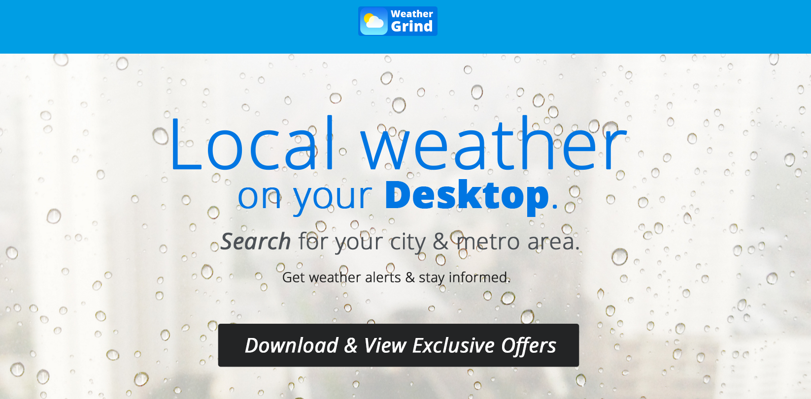 Weather Grind Ads