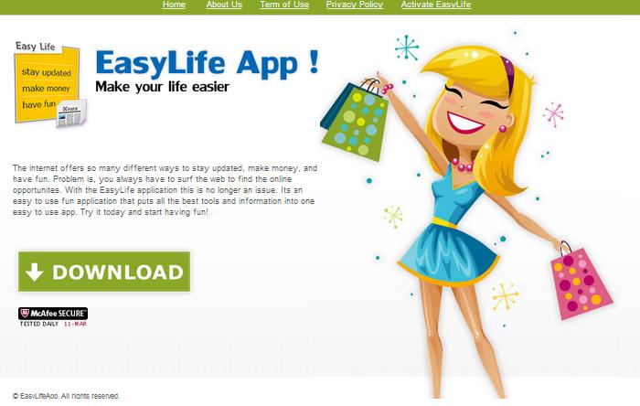 EasyLife App Ads