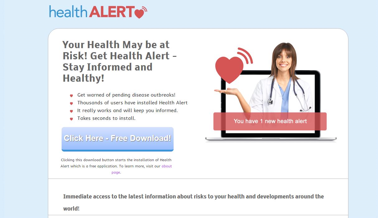 HealthAlert Ads