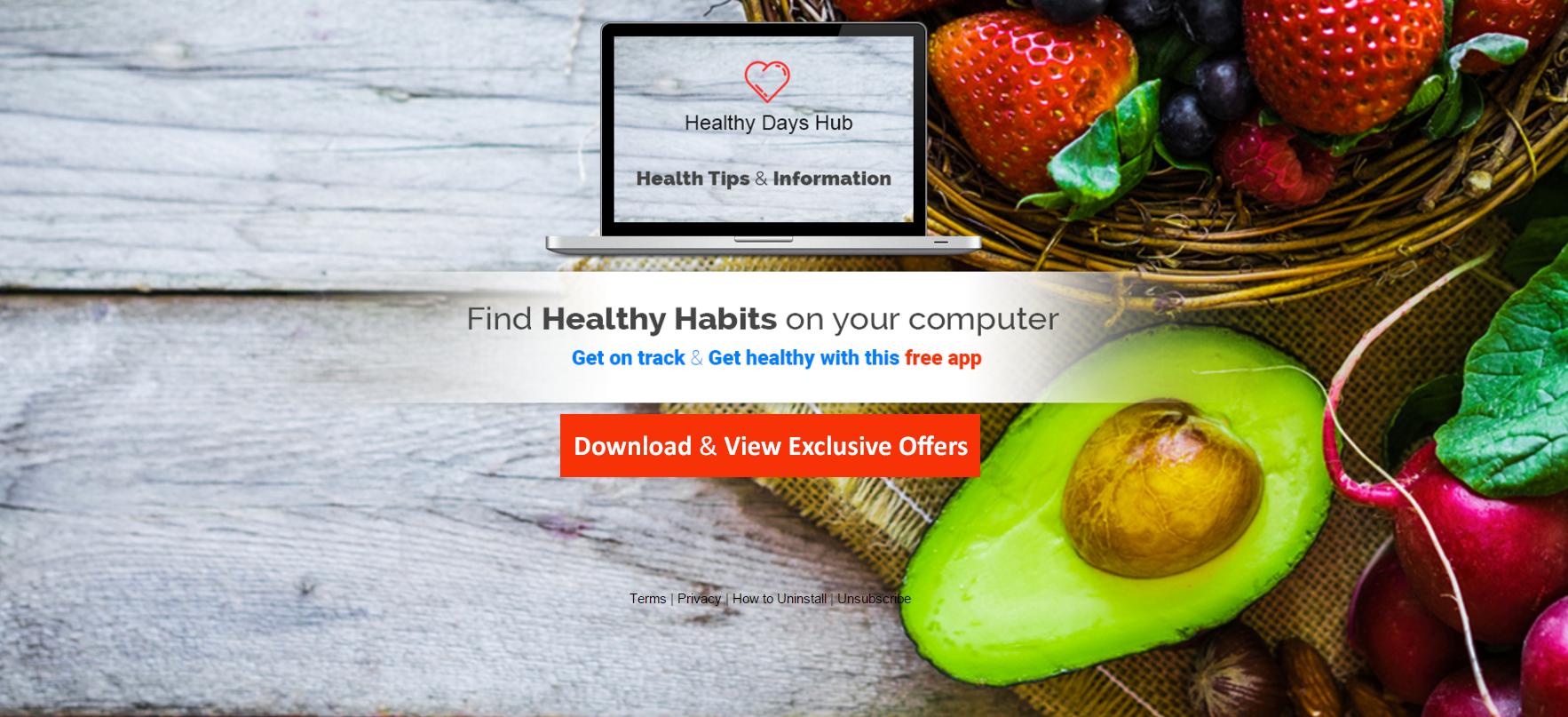 Healthy Days Hub Ads