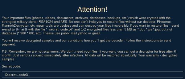 LeChiffre Ransomware