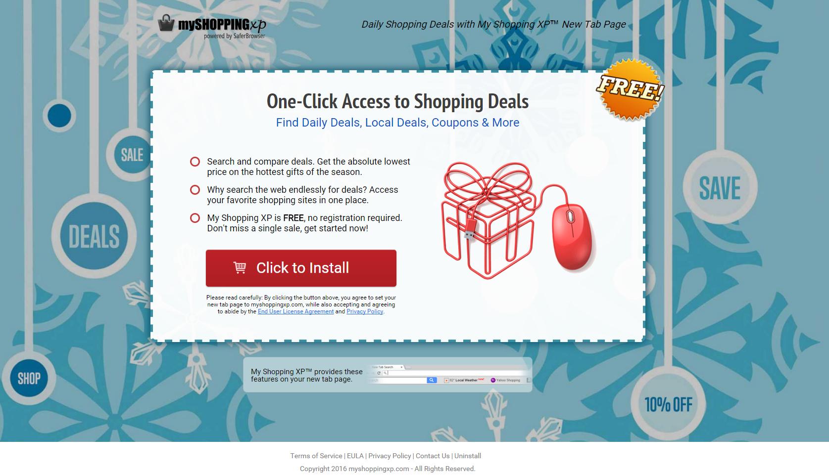 My Shopping XP Ads