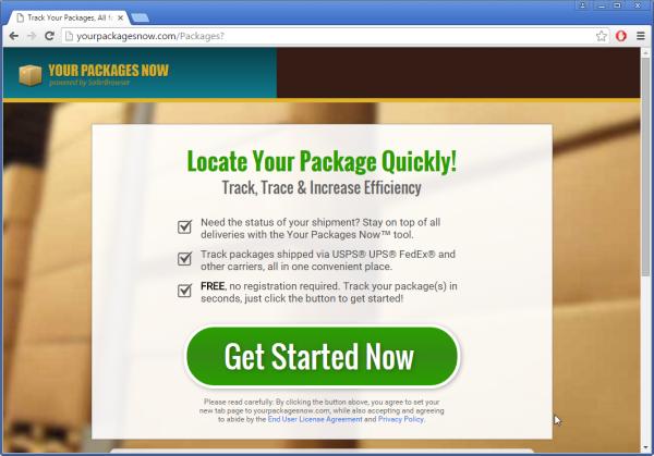 Yourpackagesnow.com ads