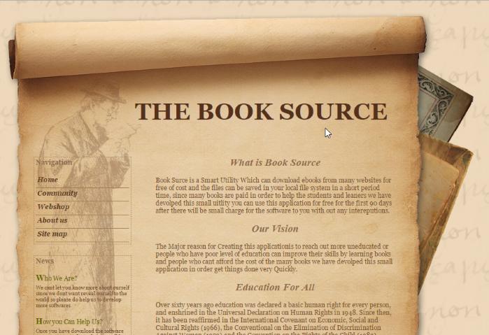 book source adware