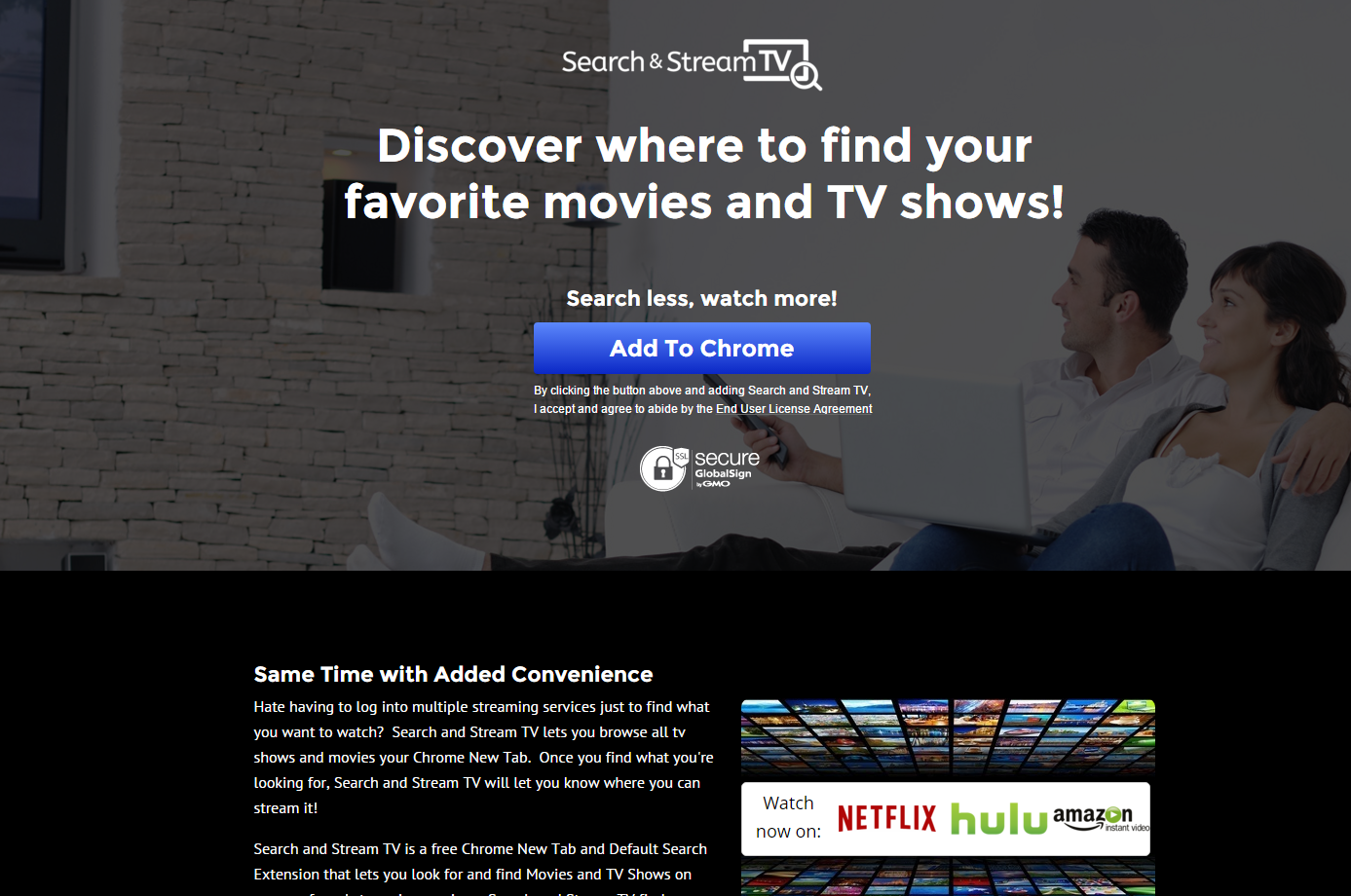 Searchandstreamtv.com Ads