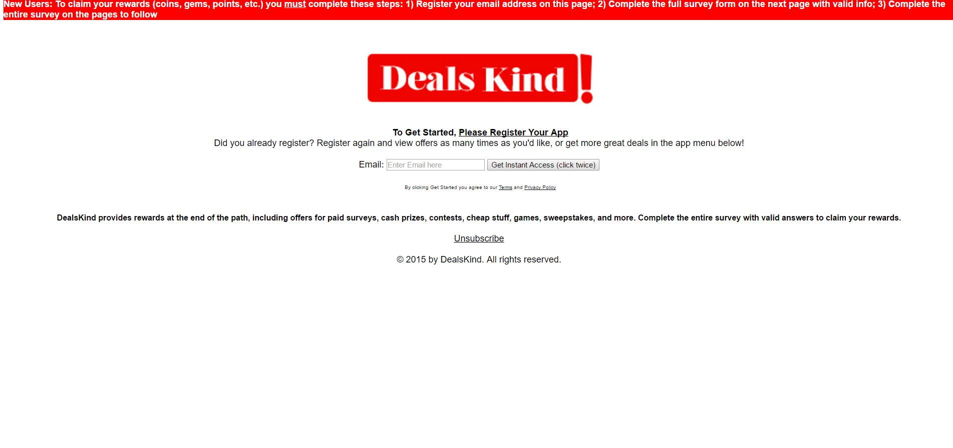 Deals Kind Ads