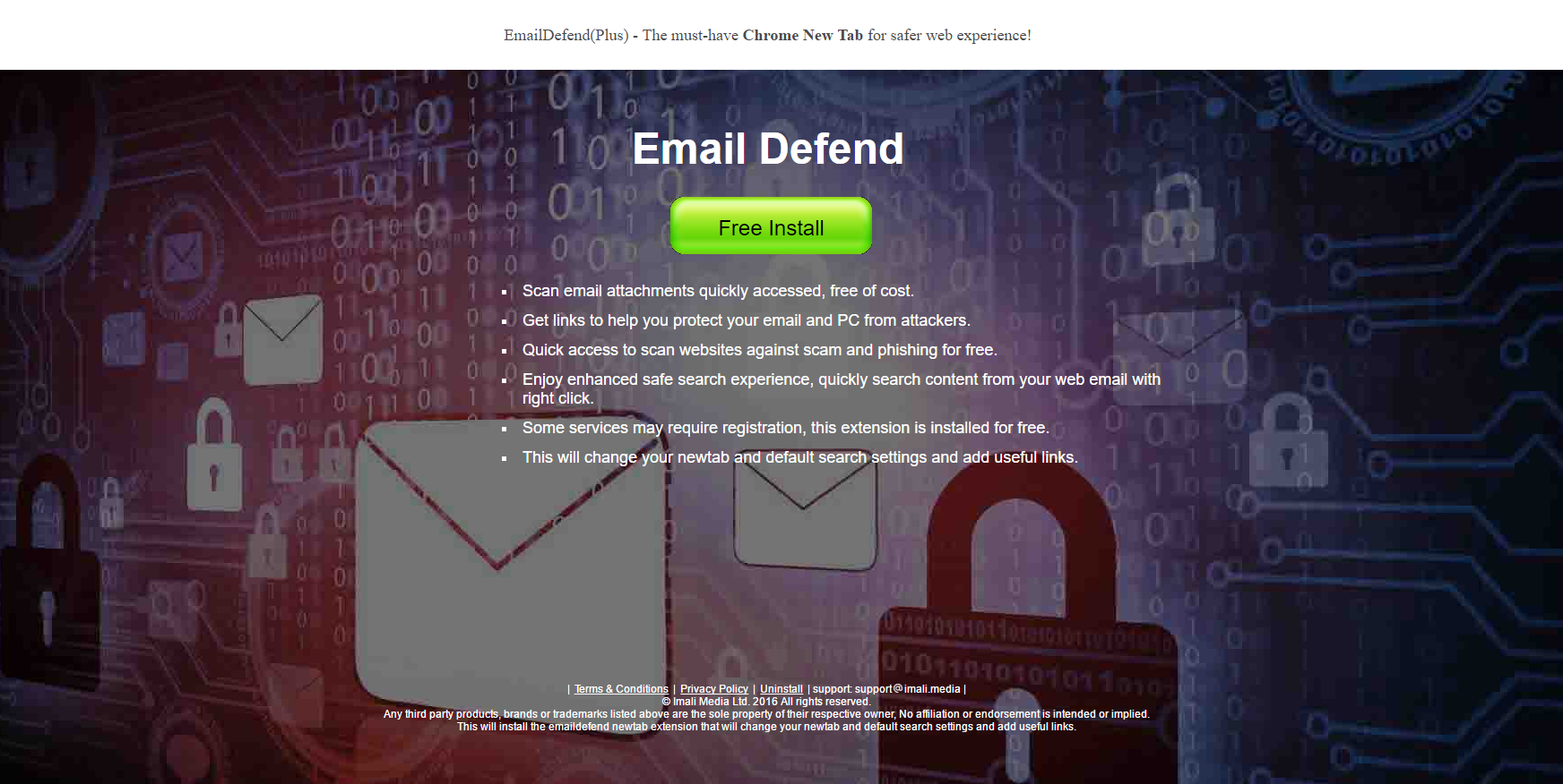 Email Defend Ads