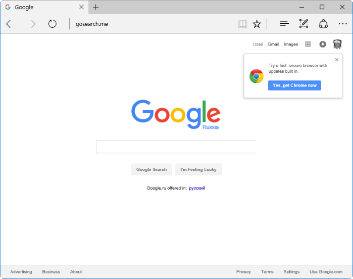 gosearch.me hijacker