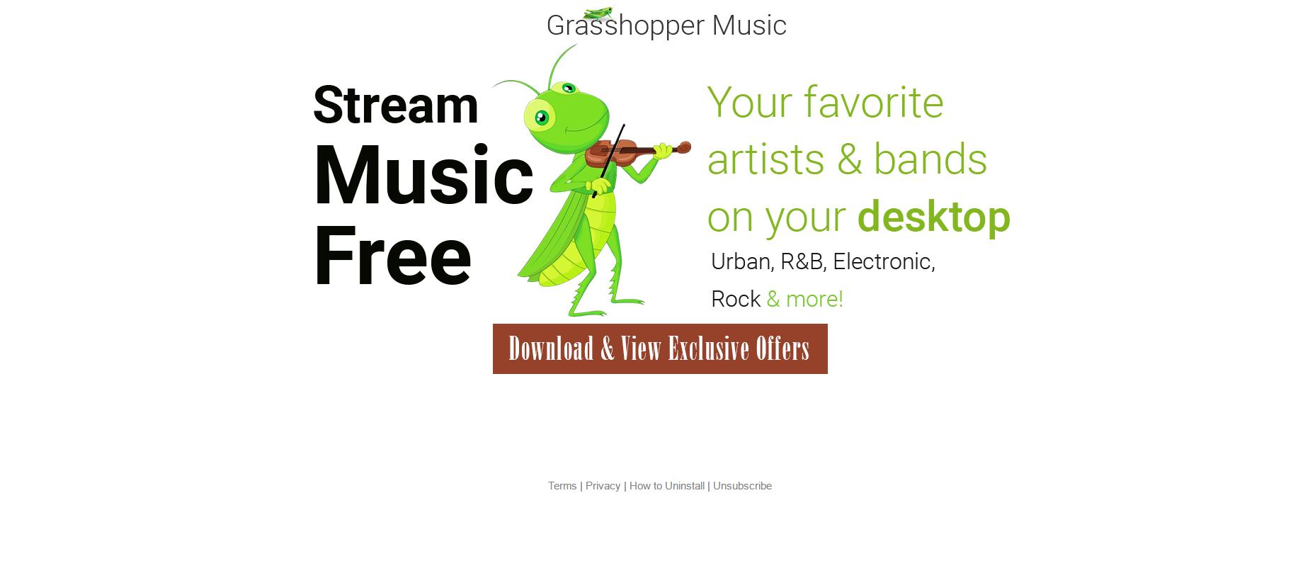 Grasshopper Music Ads