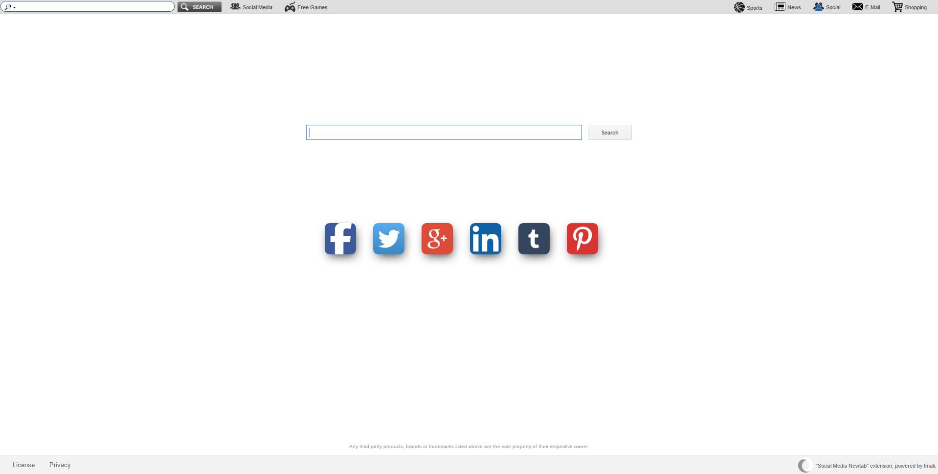 Socialmedianewtabsearch.com Ads