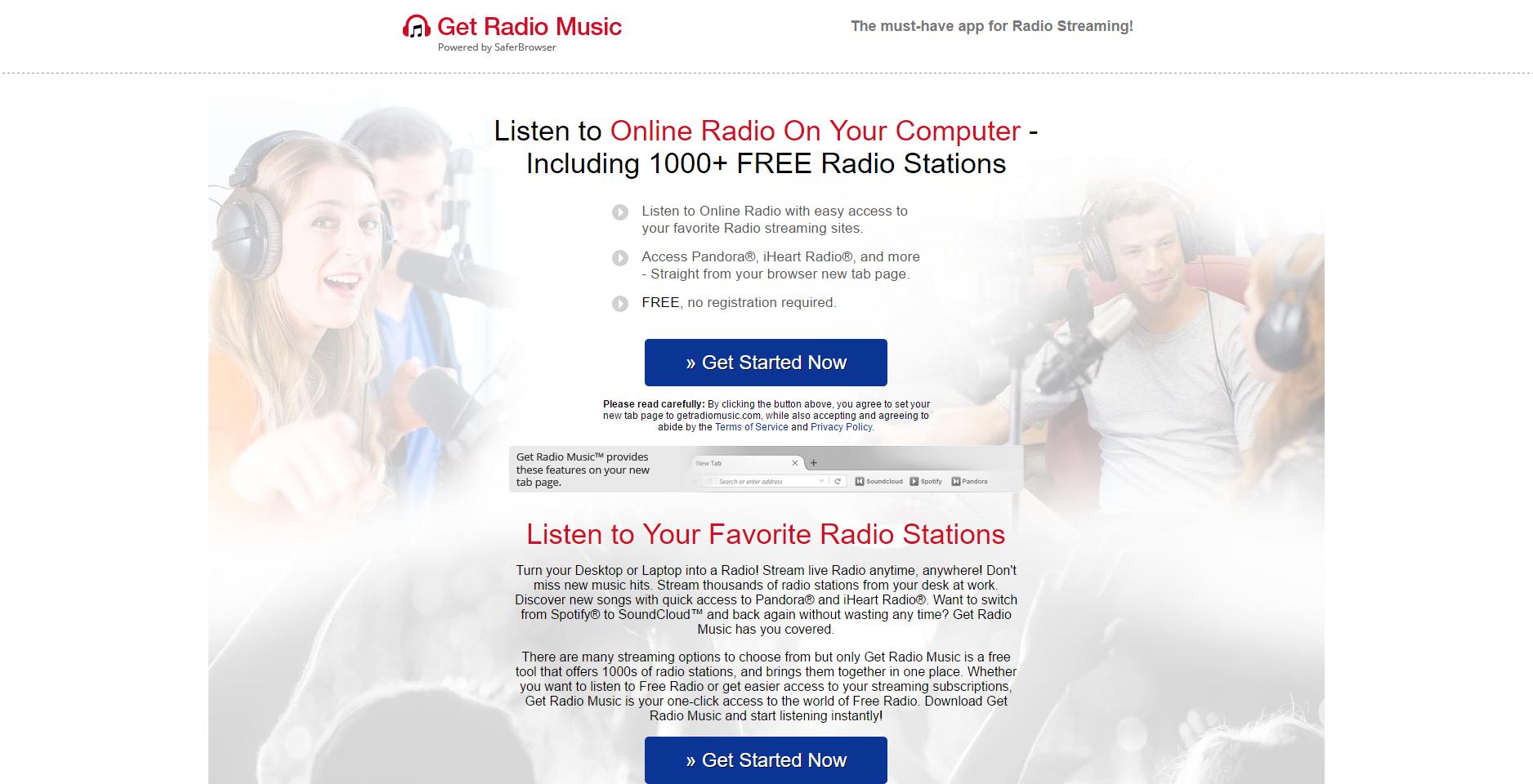 Get Radio Music Ads