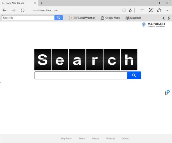 Search.searchmab.com hijacker
