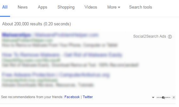 social2search ads