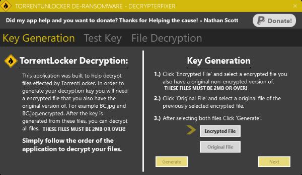 free decryptor for crypt0l0cker