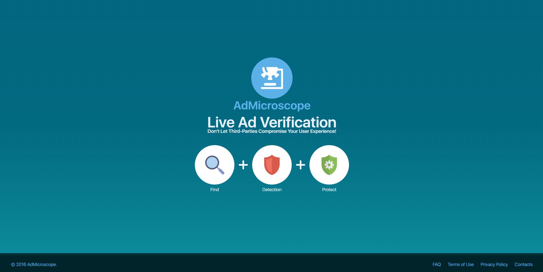 AdMicroscope Ads