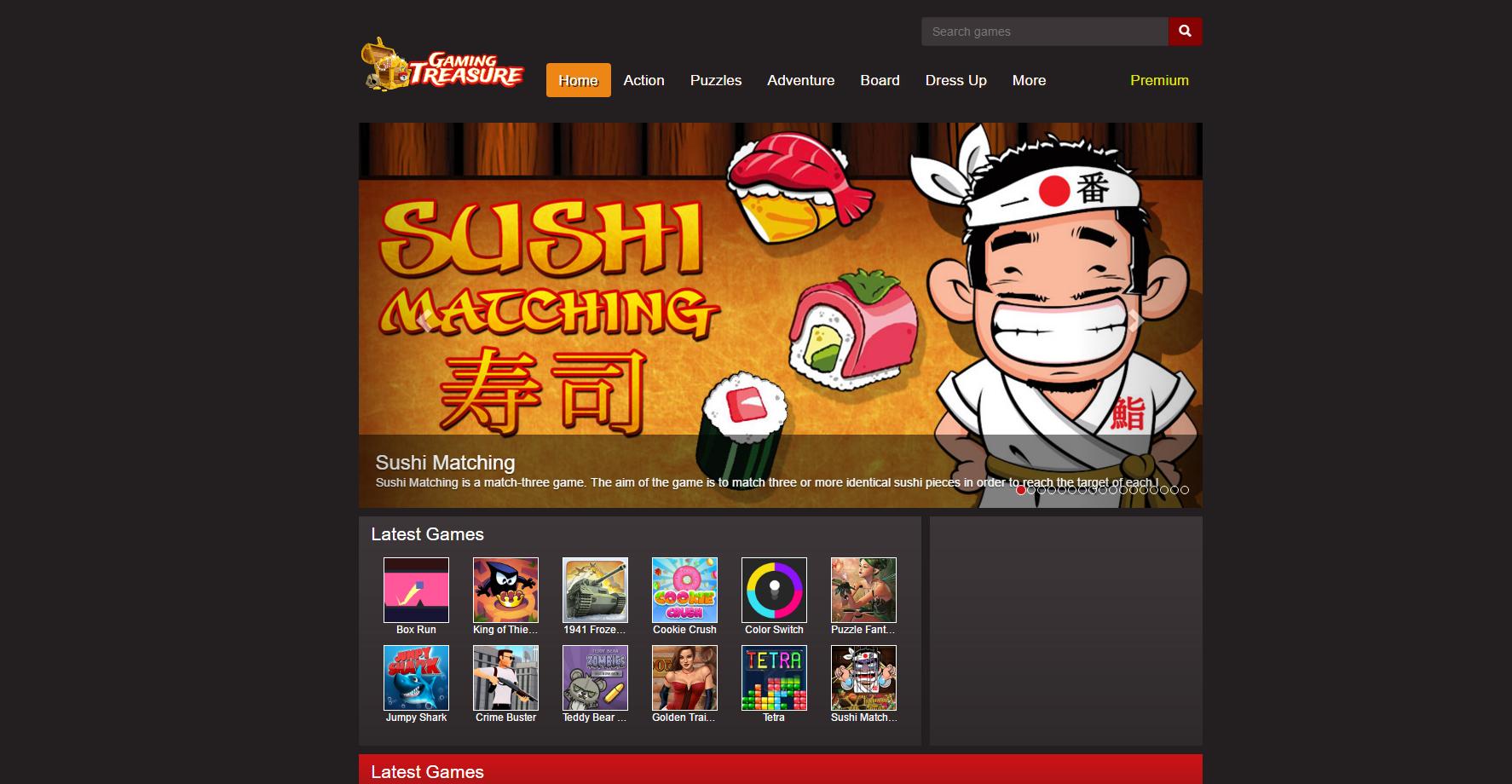 Gaming Treasure Ads