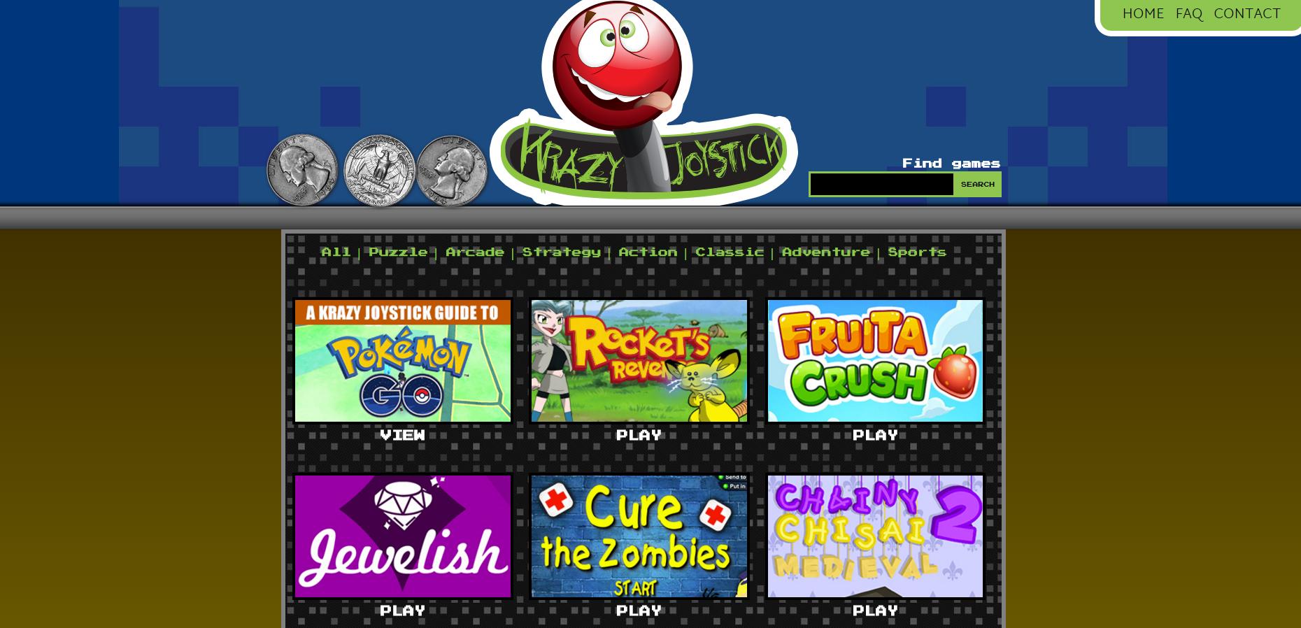 Krazy Joystick Games Ads