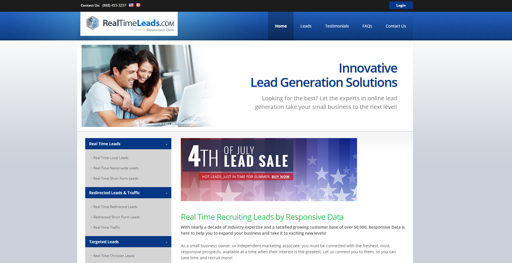 RealTimeLeads Ads