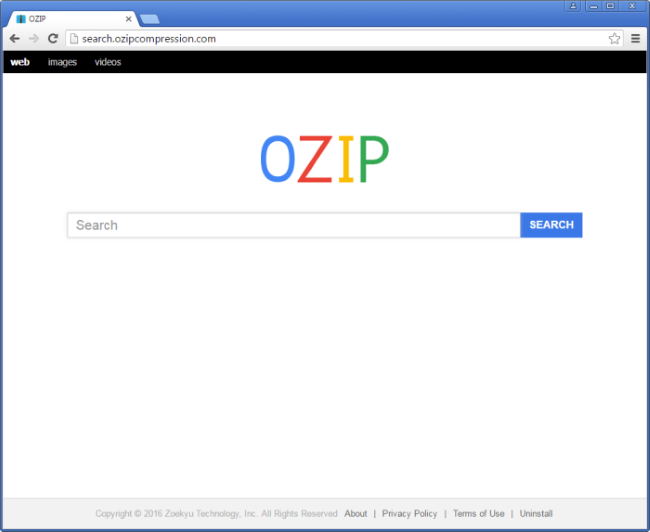search.ozipcompression.com redirect
