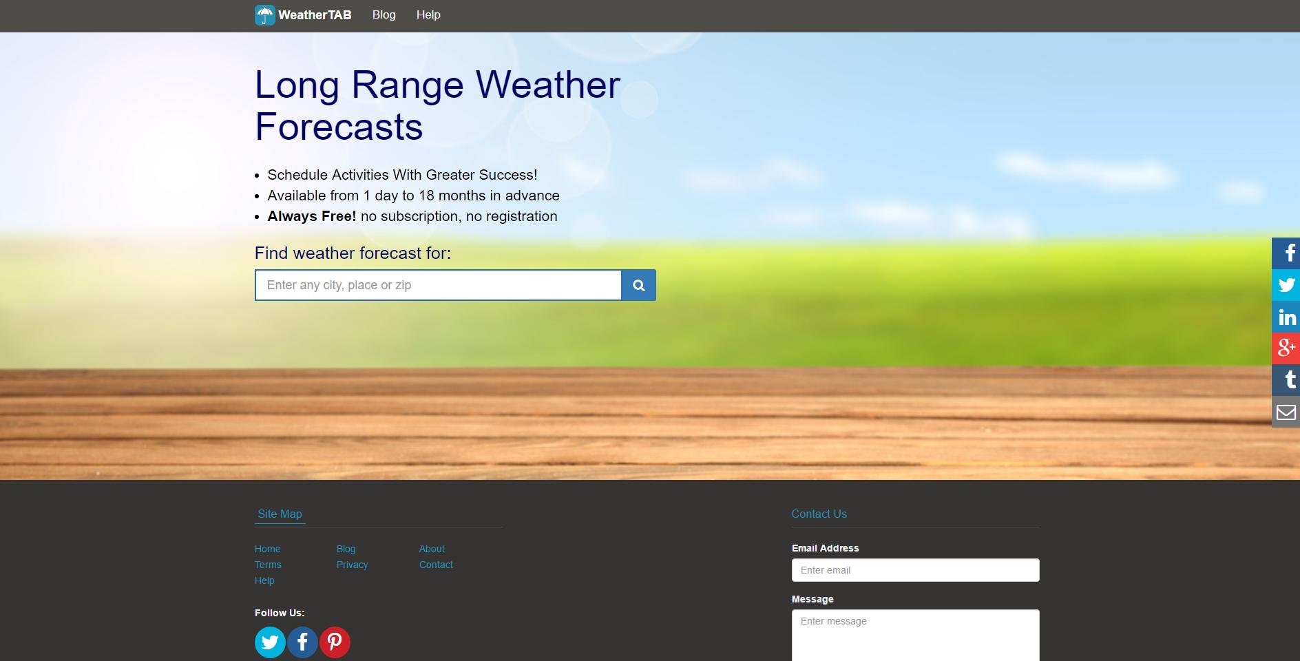 WeatherTab Ads