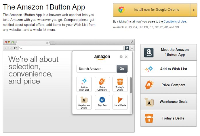 Ads by Amazon 1Button App