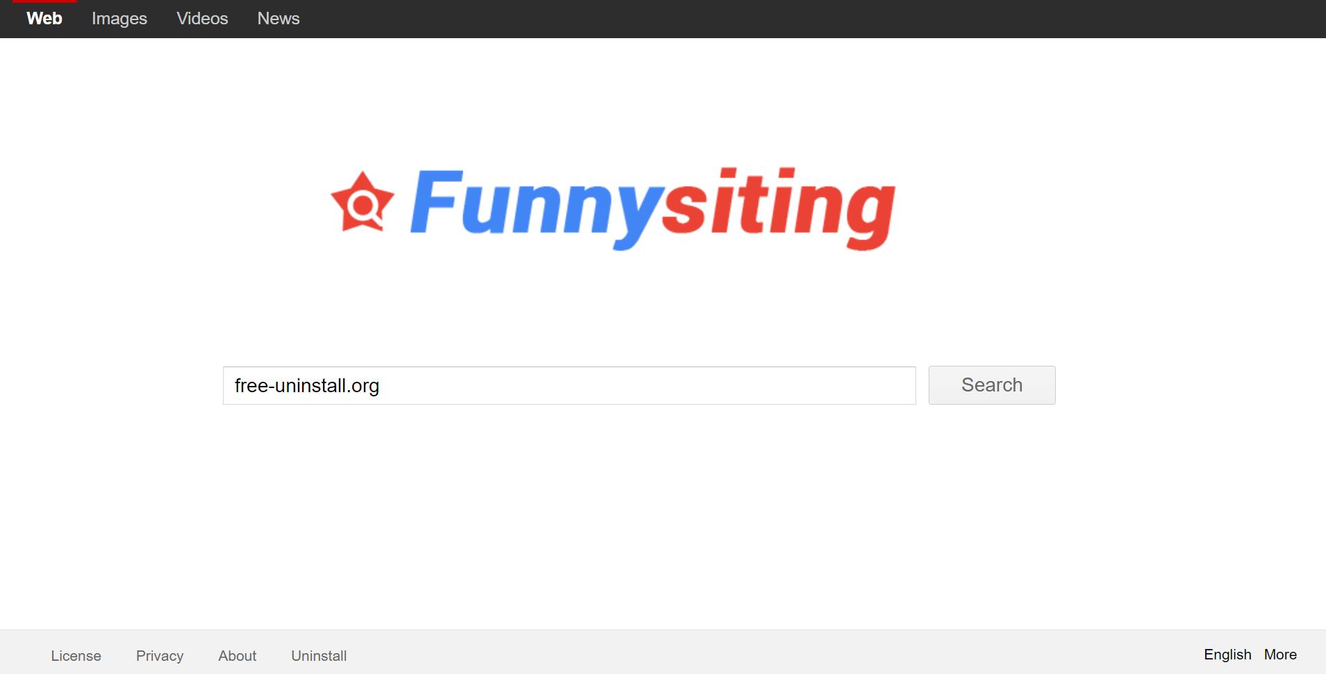 Funnysiting.com hijacker