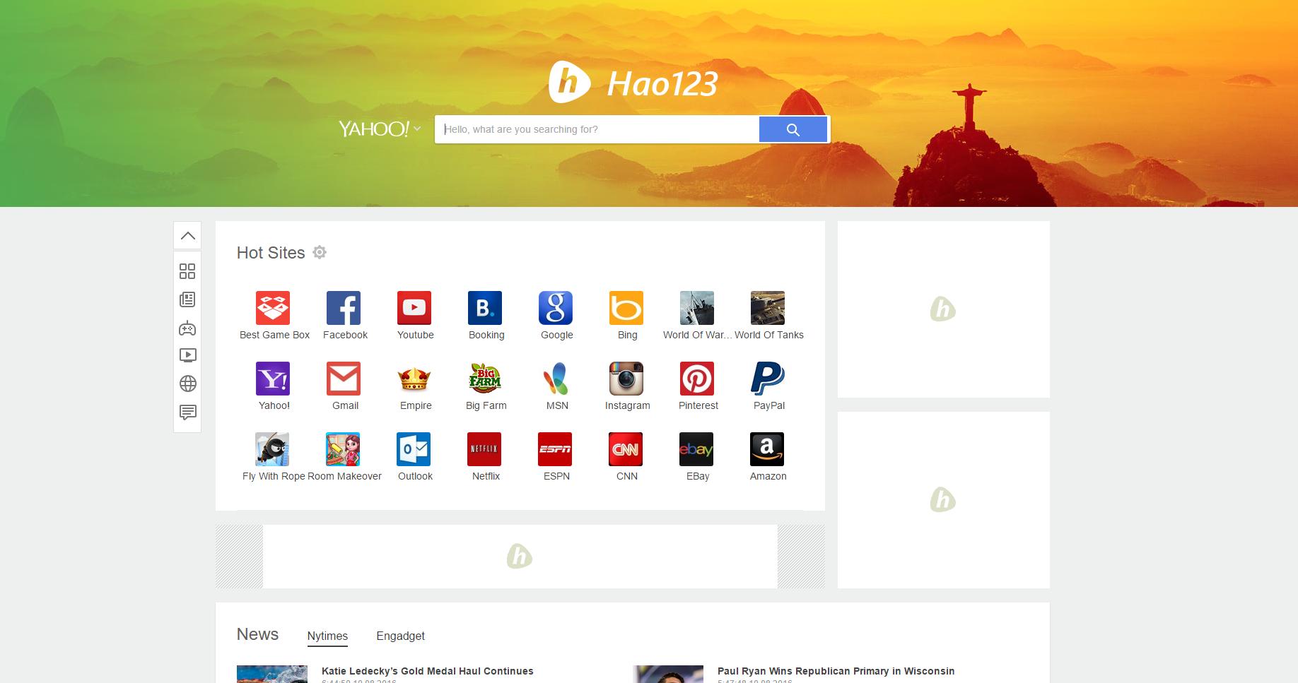 Hao123.com hijacker