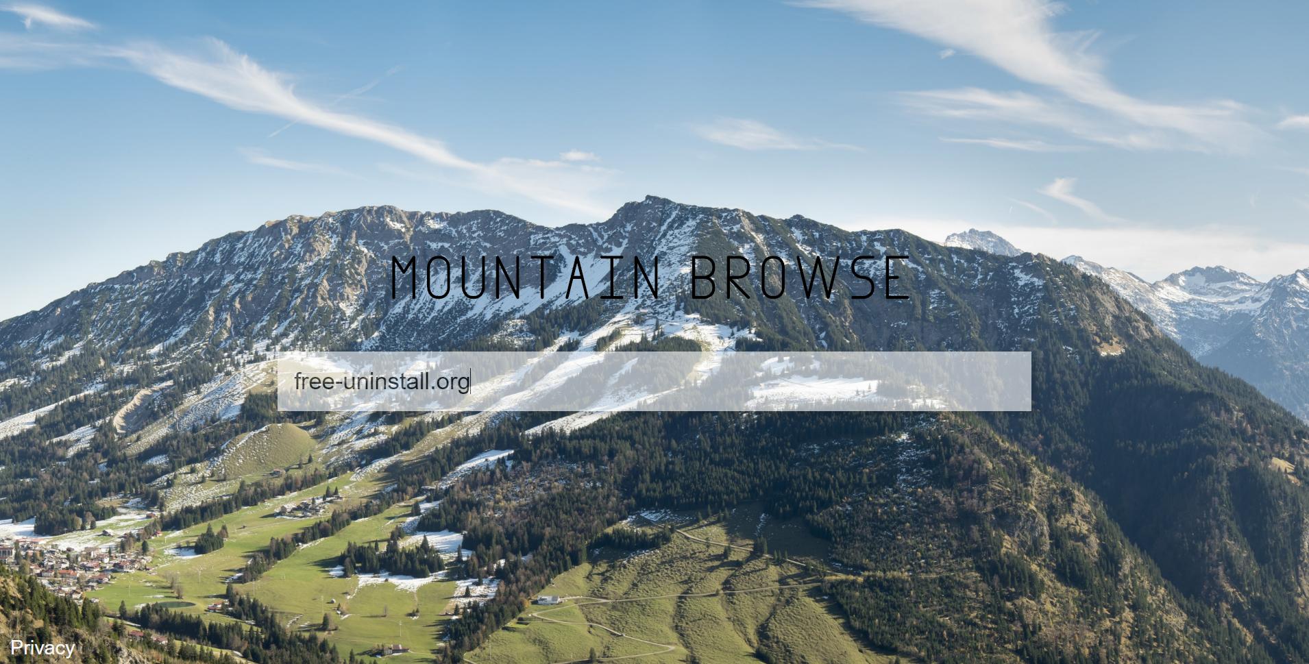 Mountainbrowse.com hijacker